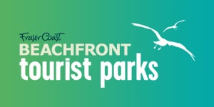 beachfront tourist parks logo